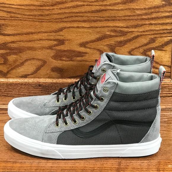 6fe0a55235 Vans Sk8 Hi MTE Frost Gray Ballistic Shoes